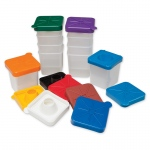 (2 Pk) No Spill Paint Cups Square