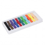 (6 Bx) Quality Artists Sq Pastels 12 Per Bx Assorted Pastels
