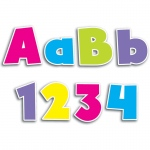 (3 Pk) Bold Brights 4in Designer Letters