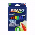 (6 Bx) Prang Washable Markers Conical Point