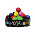 (6 Ea) Magnet Marbles 20 Solid Colored