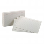 (10 Pk)oxford Index Cards 5x8 Ruled White 100 Per Pk