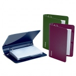 (6 Ea) Oxford Poly Index Card Binder Assorted