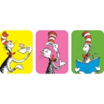 (12 Pk) Cat In The Hat Giant Stickers