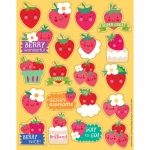 (12 Pk) Strawberry Scented Stickers