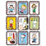 (12 Pk) Stickers Peanuts Characters