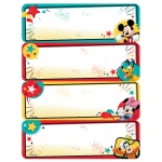 (12 Pk) Mickey Label Stickers
