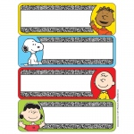 (12 Pk) Peanuts Composition Label Stickers