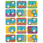 (12 Pk) Dr Seuss Thing 1 And 2 Success Stickers