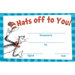(6 Pk) Cat In The Hat Hats Off To You Award