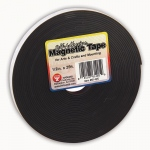(3 Rl) Magnetic Tape 1/2x25 Self Adhesive