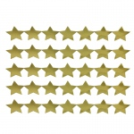 (12 Pk)sticker Strips 5 Strips Gold Stars