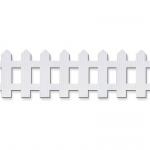 (3 Rl) Picket Fence Roll 6x16 White