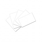 (12 Pk) White 3x5 Unruled Index Cards 100 Per Pk