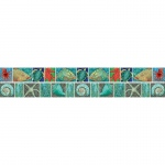 (4 Pk) Surfs Up Coral Reef Double Sided Border
