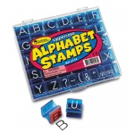 (2 St) Uppercase Alphabet & Punctuation Stamps