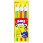 (2 Pk) Hand Pointers 3 Per Set Assorted Colors