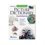 (3 Ea) Science Content Picture Dictionary English Spanish