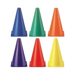 (2 St) Rainbow Cones 6 Per Set