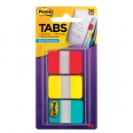 (4 Pk) Durable Index Tabs 1x1.5 3 Per Pk