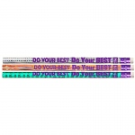 (12 Dz) Do Your Best On The Test Motivational Fun Pencils 12 Per Pk