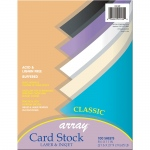 (2 Pk) Array Card Stock Classic Colors 100 Sht Per Pk 8.5x11