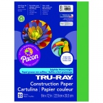(10 Pk) Tru Ray 9x12 Holiday Green Construction Paper 50sht Per Pk