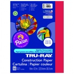 (10 Pk) Tru Ray 9x12 Holiday Red Construction Paper 50sht Per Pk