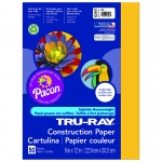 (10 Pk) Tru Ray 9x12 Gold Construction Paper 50sht Per Pk