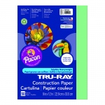 (10 Pk) Tru Ray 9x12 Light Green Construction Paper 50sht Per Pk
