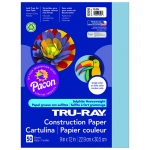 (10 Pk) Tru Ray 9x12 Sky Blue Construction Paper 50sht Per Pk
