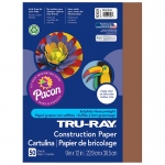 (10 Pk) Tru Ray 9x12 Brown Construction Paper 50sht Per Pk