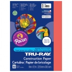 (10 Pk) Tru Ray 9x12 Red Construction Paper 50sht Per Pk