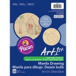 (12 Pk) Cream Manila Drawing Paper 9x12 50shts Per Pk