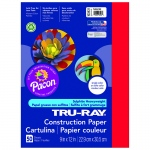 (10 Pk) Tru Ray 9x12 Festive Red Construction Paper 50sht Per Pk