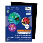 (10 Pk) Riverside 9x12 Black Construction Paper 50sht Per Pk