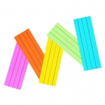 (6 Pk) Peacock Super Bright Flash Cards