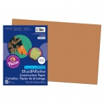 (10 Pk) Construction Paper Brown 12x18