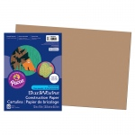 (10 Pk) Construction Paper Lite Brown 12x18