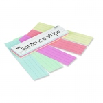 (6 Pk) Kaleidoscope Tag Mini Sentence Strips