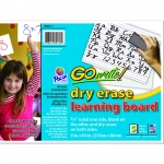 (2 Pk) Gowrite Dry Erase Learning Board 5 Per Pk