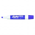 (24 Ea) Expo Low Odor Purple Dry Erase Markers Chisel Tip