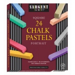(2 Bx) Portrait Color Artists Chalk Pastels Lift Lid 24 Per Bx