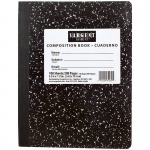 (12 Ea) 7.5x9.75 Hard Cover Comp Notebook 100 Shts Per Pk
