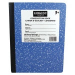 (12 Ea) Blue Composition Book 100 Shts Per Pk