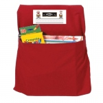 (2 Ea) Seat Sack Small Red