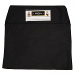 (2 Ea) Seat Sack Medium 15in Black