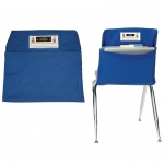 (2 Ea) Seat Sack Medium 15in Blue