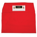 (2 Ea) Seat Sack Medium 15in Red