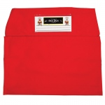 (2 Ea) Seat Sack Large 17in Red